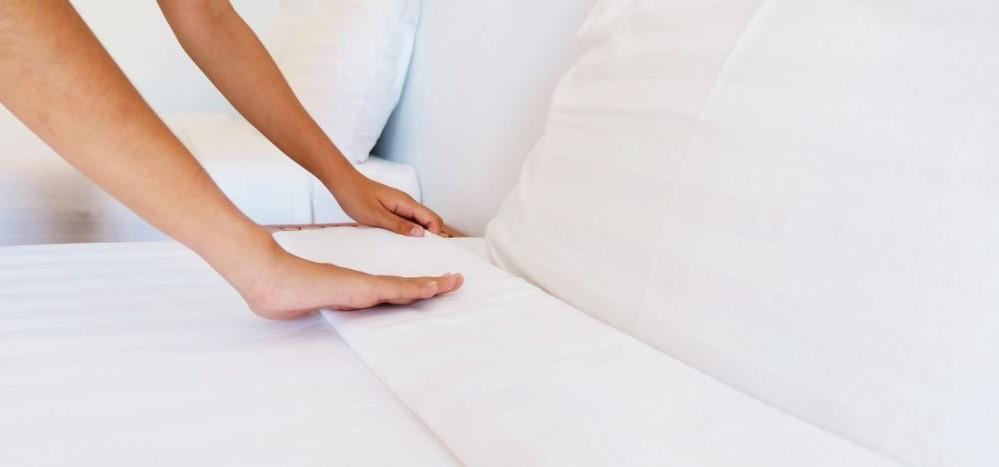 ropa de cama que no se arruga